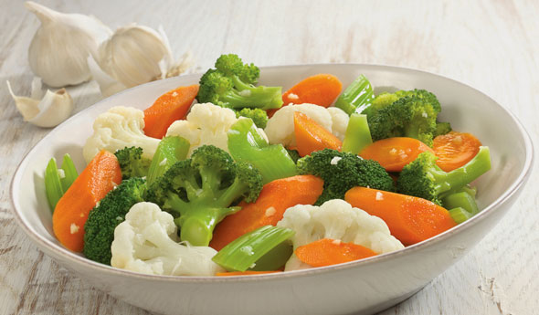 Garlic Seasoned Vegetables