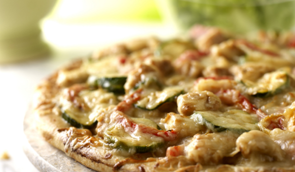 Pan Roasted Chicken & Vegetable Pizza
