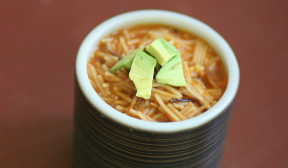 Abuela's Fideo (Grandmother's Homemade Noodle Soup)