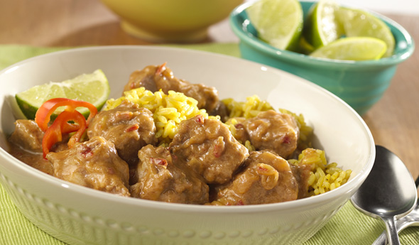 Slow-Cooked Caribbean-Style Pork Stew