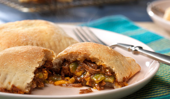 BBQ Pulled Pork Calzones