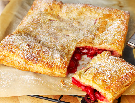 No fuss fruit pie nothing could be easier than this fruit pie made