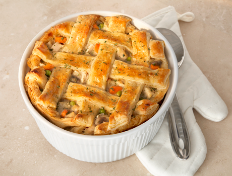 The Ultimate Chicken Pot Pie - Puff Pastry
