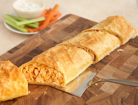 mini buffalo chicken pastries campbell s buffalo chicken pastry save ...