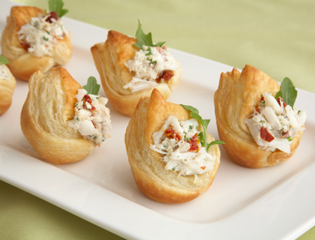 Pepperidge farm puff pastry recipe detail fancy crab for Pastry canape fillings