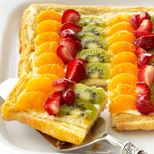 Citrus Fruit Tart