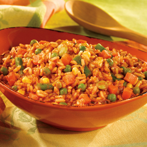 Italian-Style Rice & Vegetables