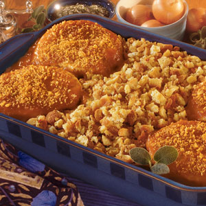 Pepperidge Farm® - Savory Pork Chops with Herb Stuffing