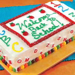 Cake Decorating School on School Cake  Craft Stores Have A Variety Of Cake Decorations
