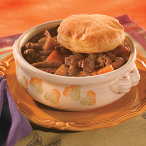 Pastry-Topped Beef Stew