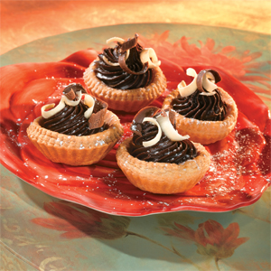Petite Chocolate Tartlets