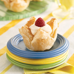 Lemon Cheesecake Mini Tartlets