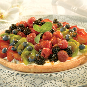 Easy and Delicious Sumptuous Pepperidge Farm® Puff Pastry Fruit Tart