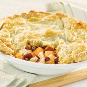 Roasted Turkey Pot Pie