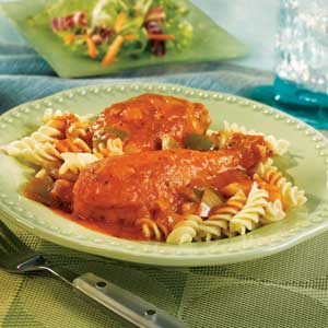 V8 - Saucy Chicken, Vegetables & Pasta