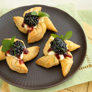 Blackberry & Fresh Mint Stars