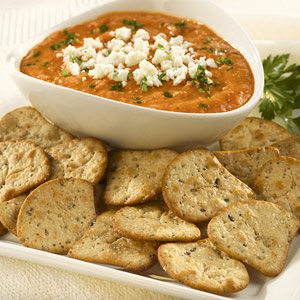 Roasted Red Pepper & White Bean Spread