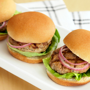 Hearty Chicken & Portobello Sliders