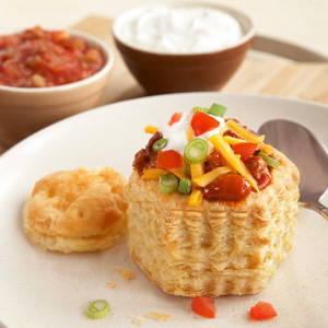 Puff Chili Shells