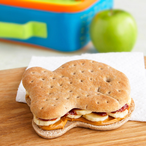 PB&J with Banana Sandwiches