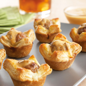 Swedish Meatball Tartlets